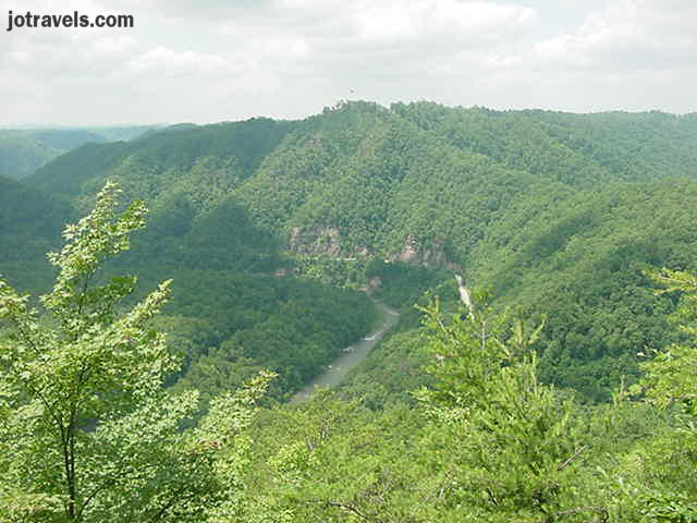 This was taken from the stateline overlook at Breaks Interstate Park