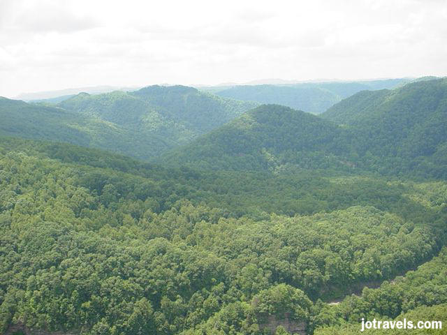 Early settlers referred to the mountain passages located on the Kentucky / Virginia border as breaks