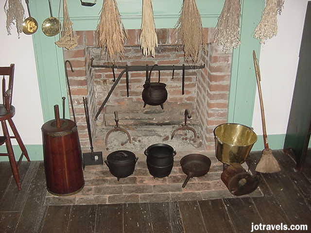The way they cooked at President Ulysses S. Grant's birthplace, Point Pleasant Ohio