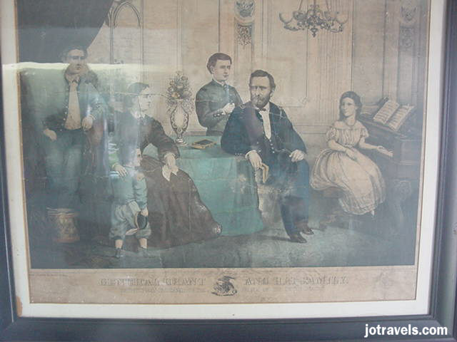 Family portrait, President Ulysses S. Grant's birthplace, Point Pleasant Ohio