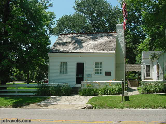 birthplace of President Ulysses S. Grant Point Pleasant Ohio