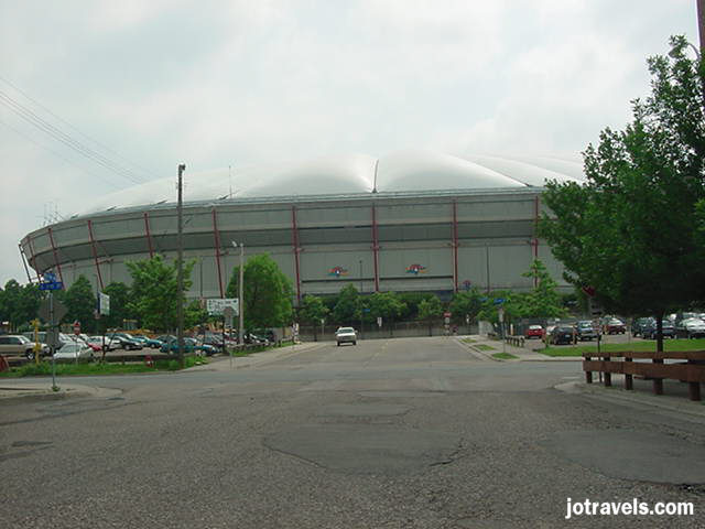 Minneapolis Metrodome Stadium