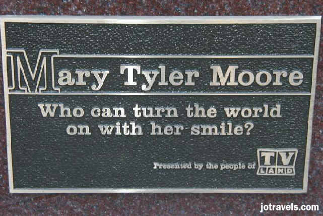 TV Land's Mary Tyler Moore statue, downtown Minneapolis