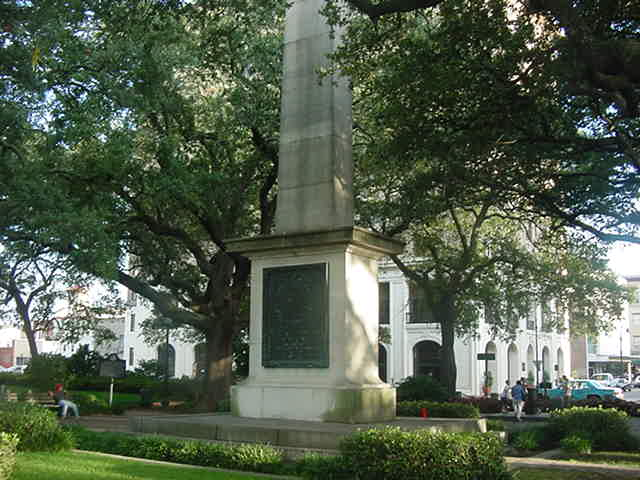 Johnson Square Nathaniel Greene Memorial Savannah Georgia