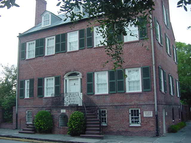 Columbia Square Isaiah Davenport House Museum