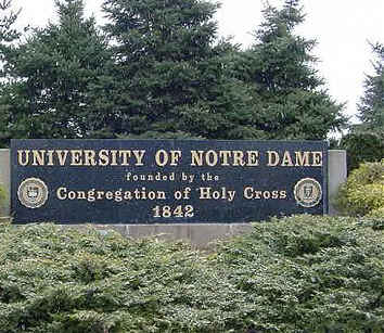 Notre Dame University South Bend Indiana